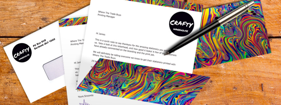 Letterheads & Stationery Printing