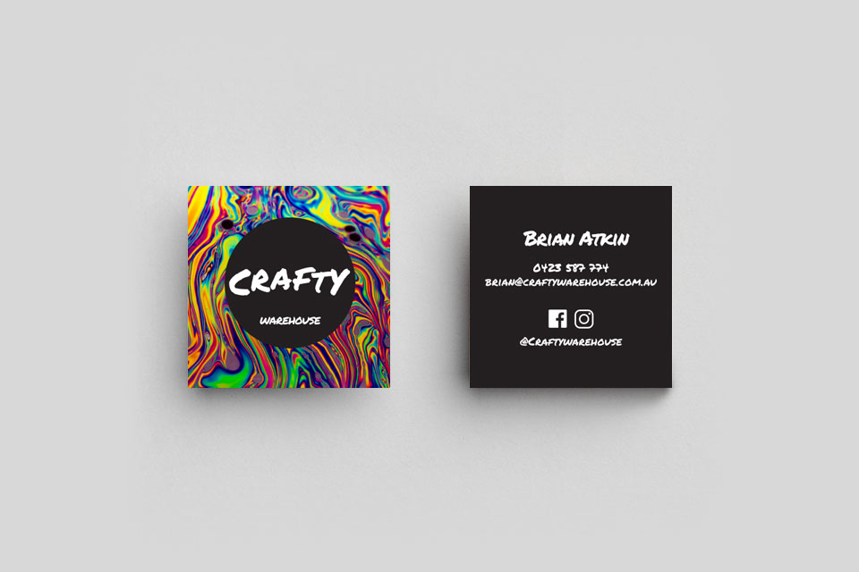 Craft Business Card
