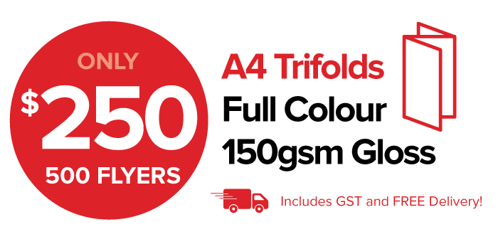 A4 Trifold Flyer - Price